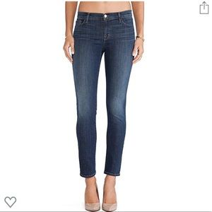 J Brand Mid-rise Skinny Leg Storm Jeans (Size 27)!